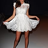Miranda Kerr has fun for David Jones.