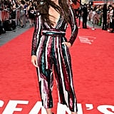 Sandra Bullock Zuhair Murad Sequin Jumpsuit Ocean's 8