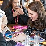 Kate Middleton Gets a Henna Tattoo