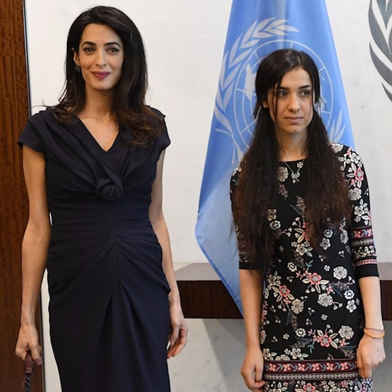 Amal Clooney and Nadia Murad (Video)
