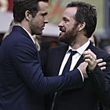 Ryan Reynolds and Peter Sarsgaard teamed up in Berlin.