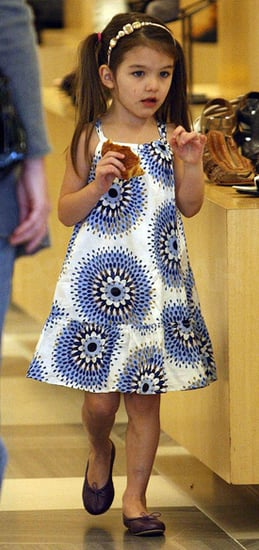 Pictures of Suri Cruise Shopping in BabyGap Dress