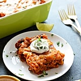 Healthy Chicken Enchilada Casserole With Brown Rice