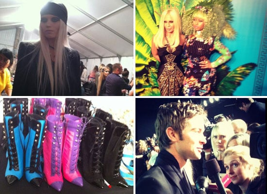 Red Carpet and Backstage Shots from Versace for H&M Runway Show: Donatella, Uma Thurman, Abbey Lee Kershaw & more!
