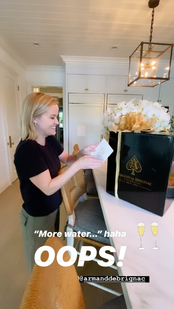 Beyoncé and JAY-Z Send Reese Witherspoon a Case of Champagne