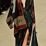 Cara Delevingne Walking in the Burberry Fall 2014 Show