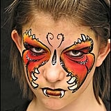 skeleton face - Halloween Face Painting For Girls