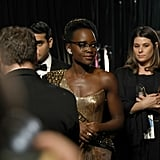 Lupita Nyong'o's Glasses at the 2018 Oscars