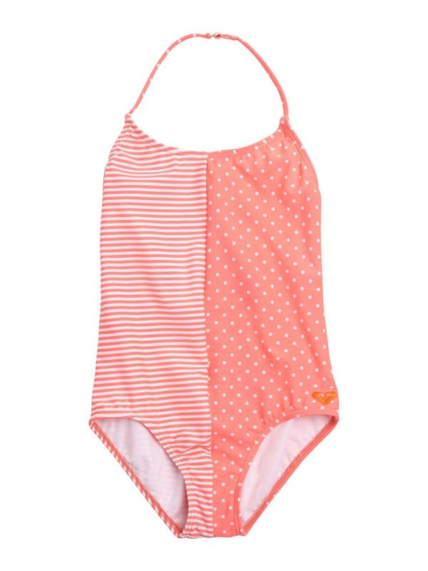 3a97c0171a Geometric One-Piece Bathing Suits For Girls | POPSUGAR Family