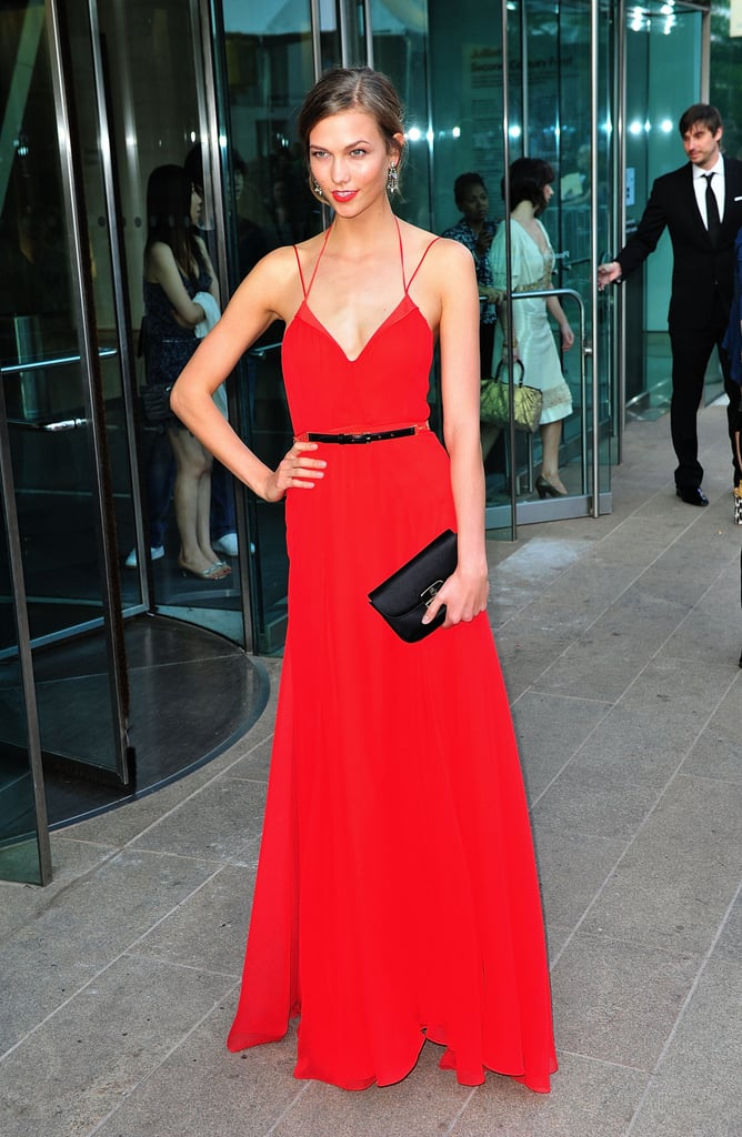 Karlie Kloss's style evolution happened with the whole fashion world watching. She nailed it in 2011 with a bold red Jason Wu dress.