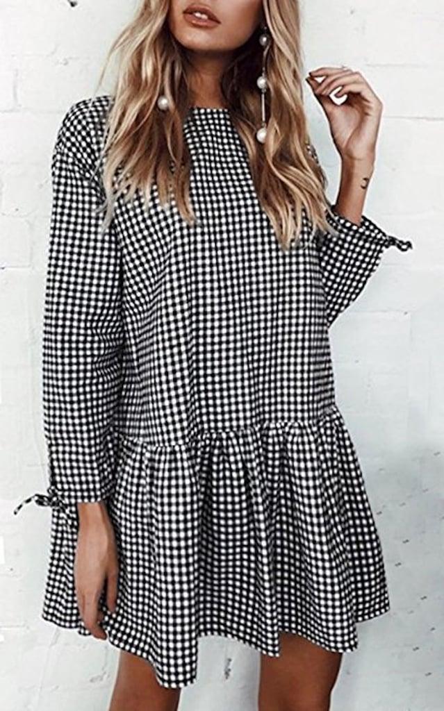 Long Sleeved Dresses On Amazon Popsugar Fashion