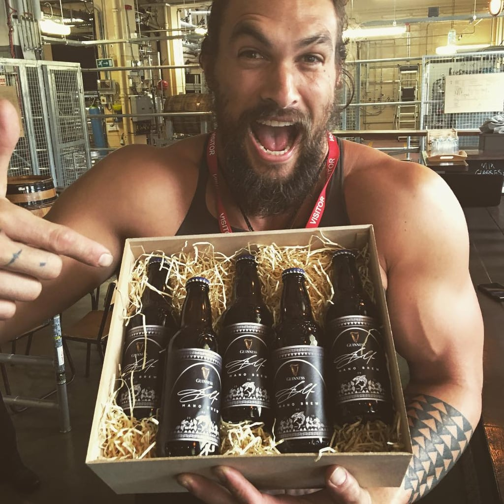 Image result for guinness beer and jason momoa
