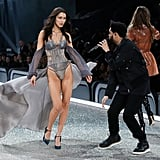 Bella Hadid and The Weeknd Victoria's Secret Show Reactions