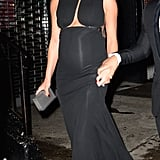 Chrissy Teigen's Baby Bump Steals the Show During Her Glamorous Night Out With John Legend