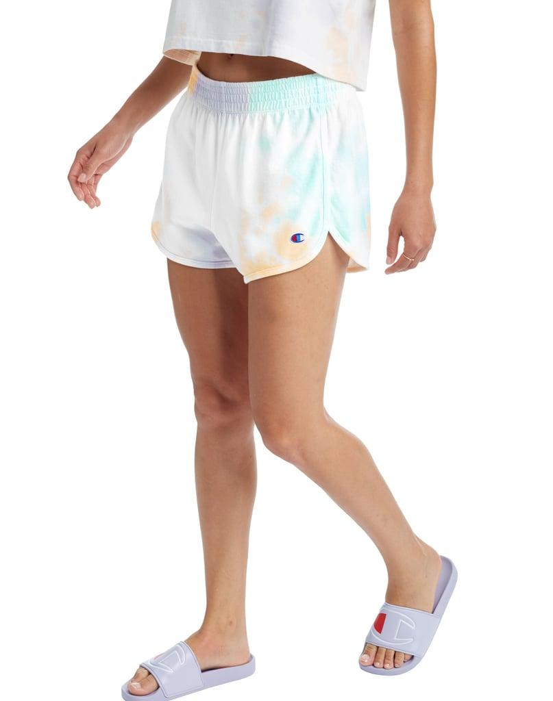 Champion Gym Shorts in Cloud Dye
