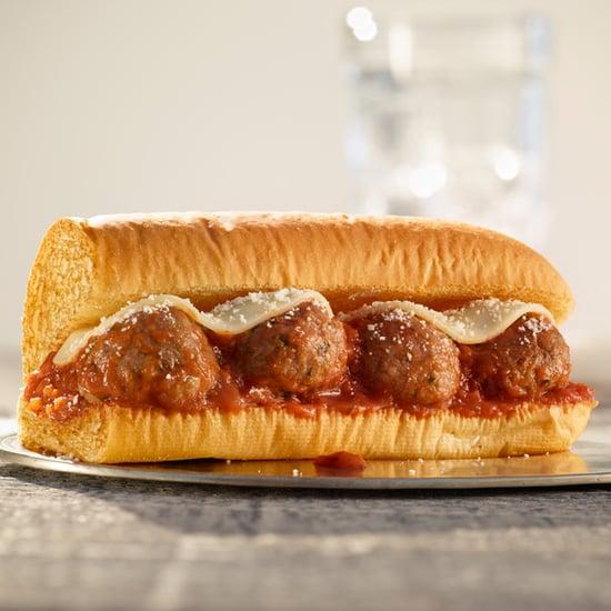 Subway Beyond Meatball Marinara Sub Sandwich