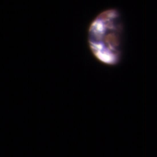 NASA Photos of Earth and the Moon