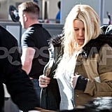 Jessica Simpson Takes Flight Without Her Fiancé