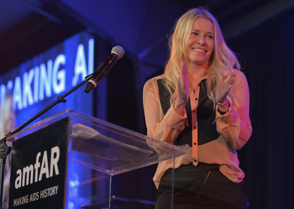 Chelsea Handler attended the gala at Milk Studios in LA.