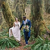 This Couple Eloped in a Mossy Rainforest, and It Was as Enchanting as You'd Expect!