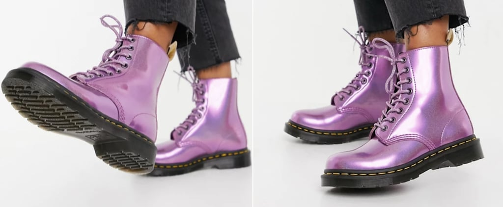 Dr. Martens Metallic Purple Boots | 2021
