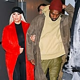 Kanye West Steps Out With Kim Kardashian in NYC Amid Taylor Swift Controversy