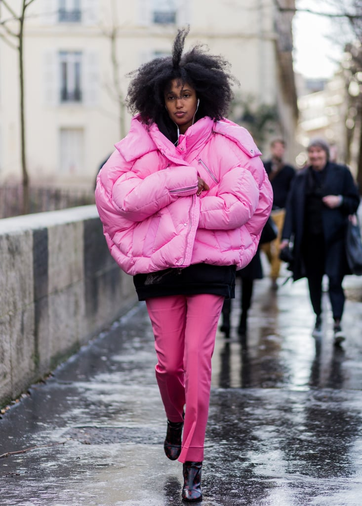 Cool Ways to Wear Colorful Outfits All Winter