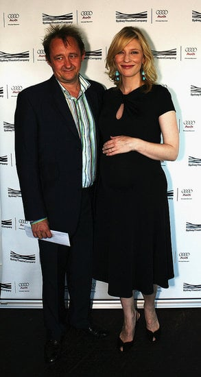 Cate Blanchett and hubby show off her beauteous bump.