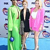 Megalyn Echikunwoke, Brittany Snow, and Emily Osment at the 2019 Teen Choice Awards