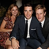 Emily VanCamp, Joshua Bowman, and Gabriel Mann hung out at the GQ afterparty.