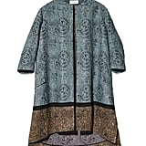 H&M Conscious Collection Jacquard-Weave Silk-Blend Coat ($250)