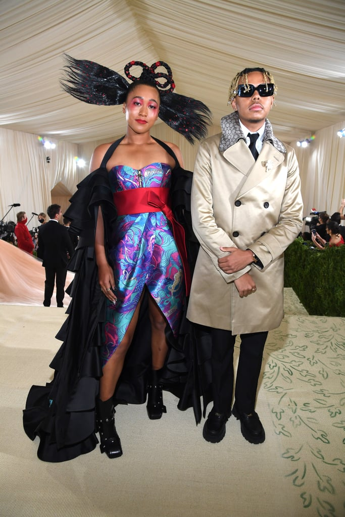 Sept. 13, 2021: Naomi and Cordae Attend the Met Gala
