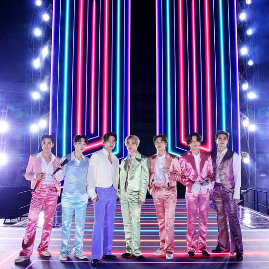 BTS's Rainbow Suits at the AMAs