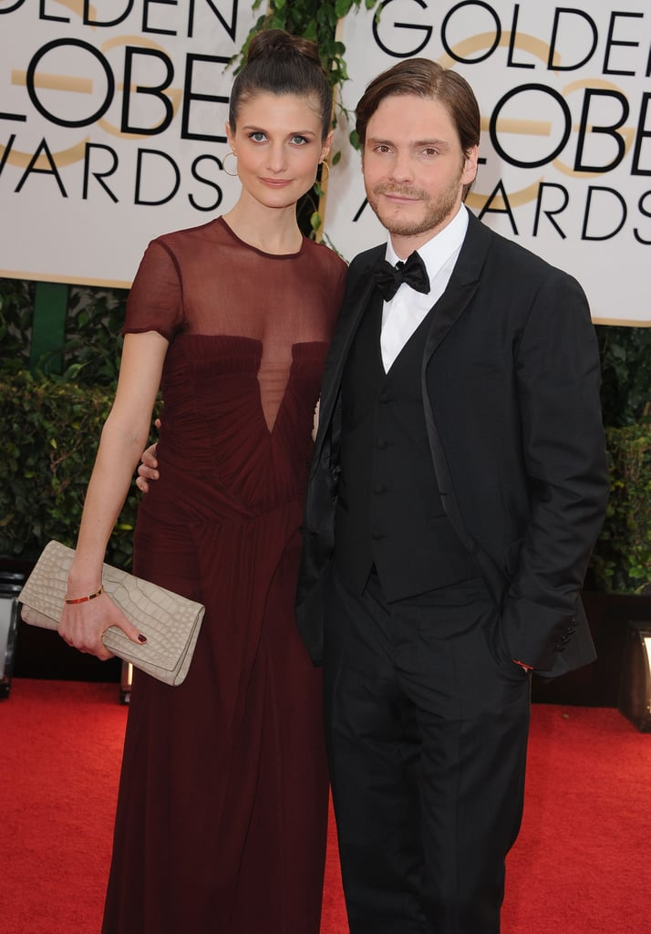 daniel bruhl was joined by his girlfriend felicitas. Black Bedroom Furniture Sets. Home Design Ideas
