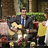 The boys planned an epic surprise for Georgia, starting with Cam serenading her on the couches.