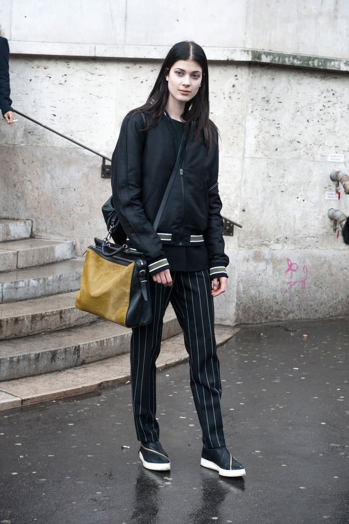 PFW Model Street Style Day One