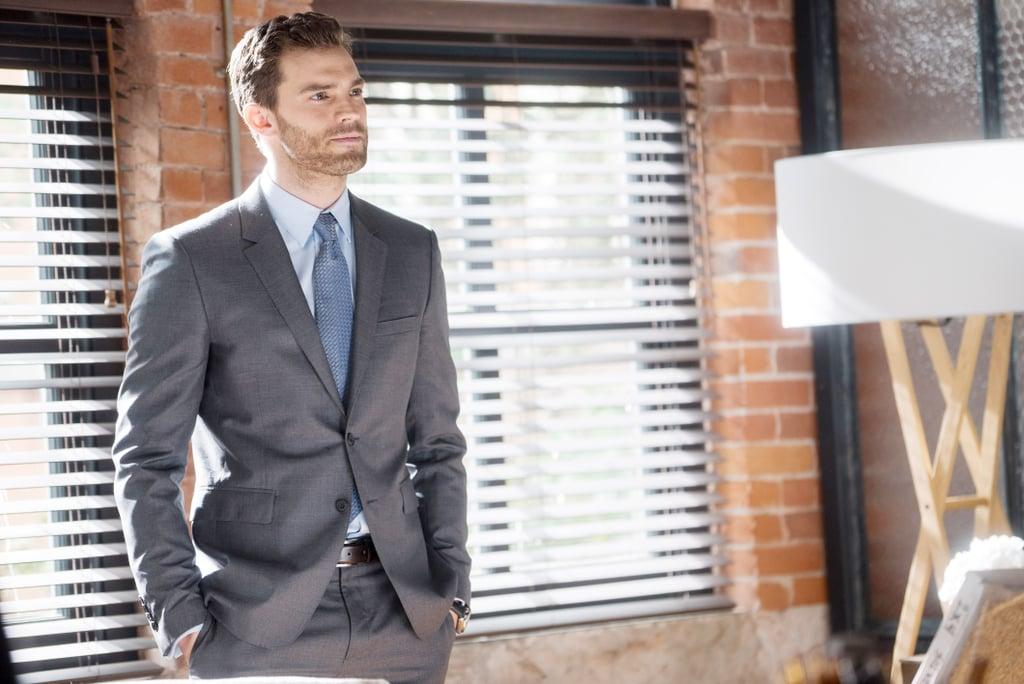 Jamie Dornan as Christian Grey Pictures