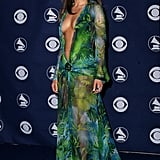 Jennifer Lopez at the 42nd Annual Grammy Awards