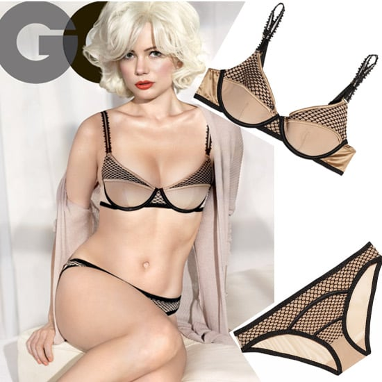 We Found Michelle Williams' Sexy Stella McCartney Lingerie From her GQ February Cover