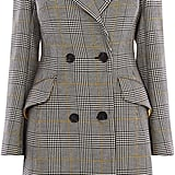 Karen Millen Double-Breasted Check Coat