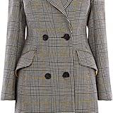 Karen Millen Double-Breasted Check Coat