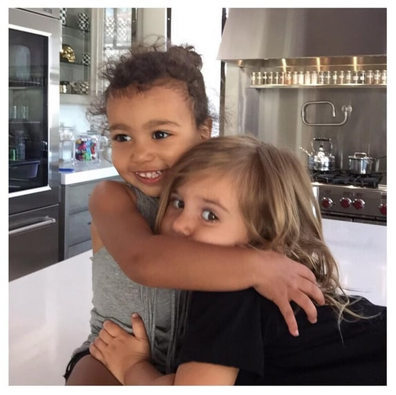 North hugged her cousin Penelope.