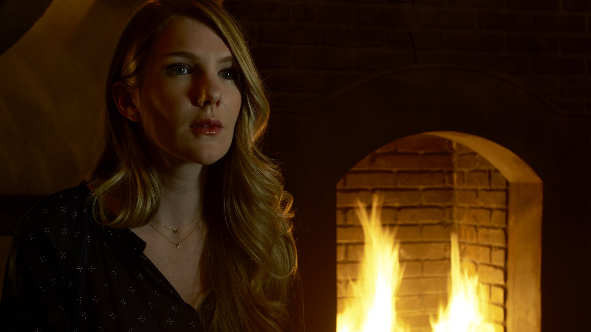 AMERICAN HORROR STORY: ROANOKE -- Pictured: Lily Rabe as Shelby. CR: Frank Ockenfels/FX