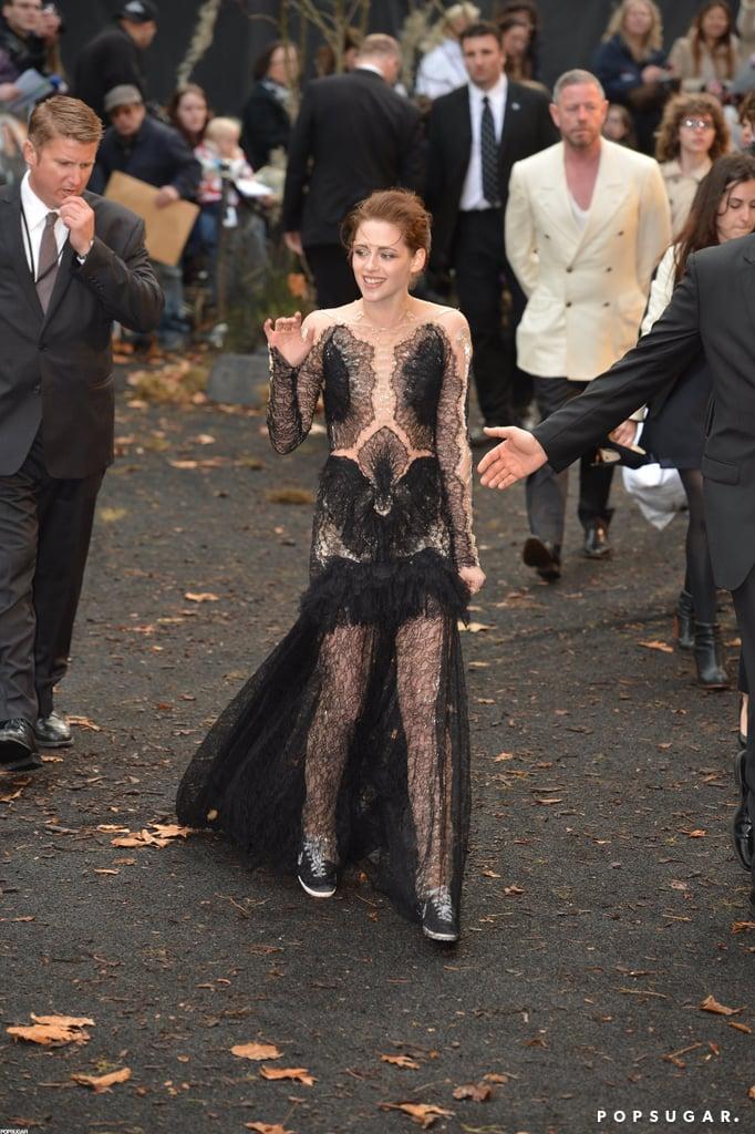 Kristen Stewart Nike Pictures at Snow White London Premiere