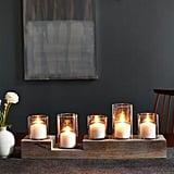 Light Wood Centerpiece