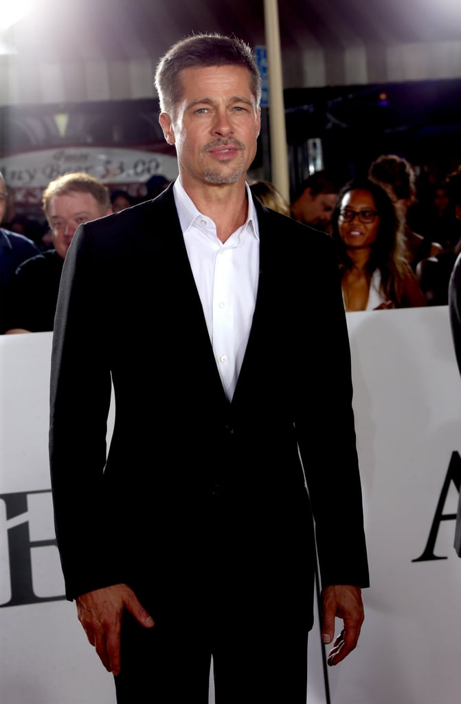 "Brad Pitt appeared to be in good spirits when he stepped out for an Allied fan event in LA on Wednesday evening. The actor, who's been keeping a low profile as of late, looked dapper in a black suit as he posed for photos, signed autographs, and greeted fans. The event also brought out Brad's costar Marion Cotillard, who is currently pregnant with her second child with longtime partner Guillaume Canet. Marion first announced her pregnancy back in September after rumours began swirling that she and Brad were having an affair.  The event marked Brad's first red carpet appearance since Angelina Jolie filed for divorce from him in September, though he did attend a private screening of Moonlight with Julia Roberts on Tuesday night. Since the breakup, so much has happened between the former couple that their cute moments now seem like a distant memory. Although Angelina has yet to personally speak out on the matter, her attorney, Robert Offer, said her decision to split was ""for the health of the family."" Brad also released a statement of his own, telling People, ""I am very saddened by this, but what matters most now is the well-being of our kids."" Earlier in the day, law enforcement sources confirmed to Us Weekly that Brad has been cleared in a child abuse investigation involving his son Maddox. TMZ also reported that the Department of Children and Family Services ruled out any reports of any patterns of misconduct on the actor's part.      Related:                                                                                                           52 Couples Who Have Called It Quits This Year"