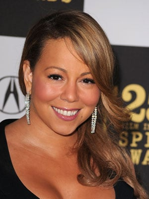 Mariah Carey at 2010 Independent Spirit Awards