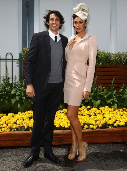 Andy Lee and Megan Gale