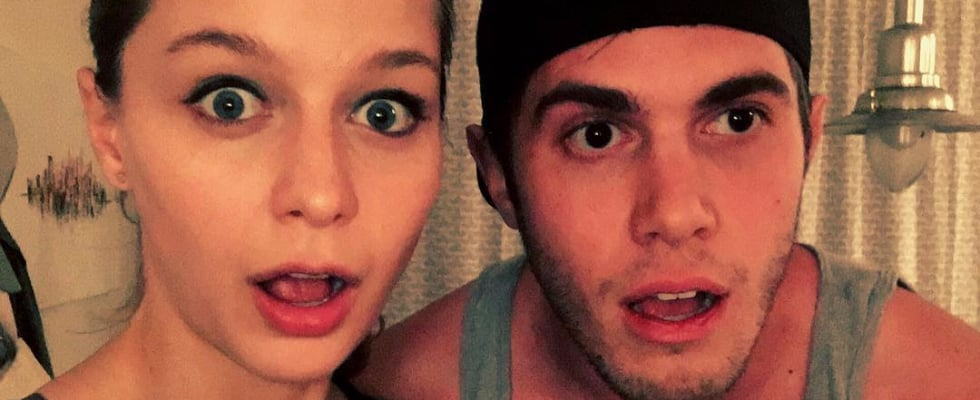 "Cute Pictures of Blake Jenner and Supergirl Melissa Benoist That'll Make You Go ""Aww!"""