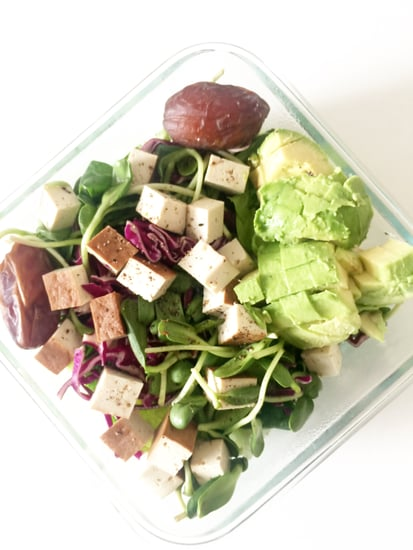 Quick Vegan Salad to Pack For Lunch